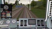 模拟火车事故
