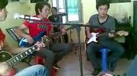 20110828  寻琴记琴行录制 啊雷他们的弹唱