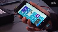 支持四列磁贴与USB-OTG的神秘大屏Lumia工程机上手演示(@诺记吧 转载)