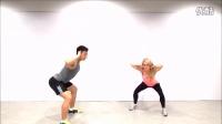 快速减肥 家庭锻炼2分钟快速热身