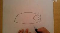 简笔画老鼠的画法根李老师学画画