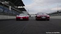 法拉利 458 Speciale 改裝 Fi Exhaust VS. 最強電車特斯拉 P85D