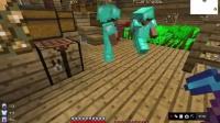 极天解说:多人矿坑生存V继续探索(中)初战死神《Minecraft》极冰视频