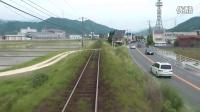 运转台展望 JR九州 筑肥线 唐津-伊万里 前面展望
