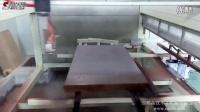 【成都森联】贴木皮家具板五轴喷涂加工中心