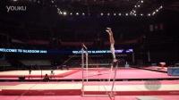 【2015世锦赛】女子体操 资格赛 高低杠 Farah Boufadene