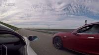 Tesla Model S P90DL大战兰博基尼Aventador LP700-4 [HD]