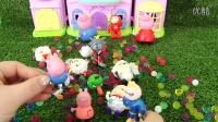 粉红猪小妹佩琪乔治、喜洋洋、红太狼、愤怒小鸟之胖大球沐浴亲子游戏