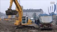 纽荷兰挖掘机装车
