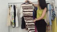 尾货精品女装品牌连衣裙走份批发 100件起批 1500一份
