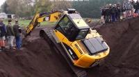 挖掘机操作视频,惊人的挖掘机救援,疯狂的挖掘机操作