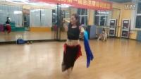新式肚皮舞——双扇舞