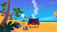 鲨鱼哥与美人鱼-变身大力士-喜剧-动画-动漫-卡通短片
