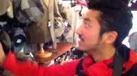英国尼斯湖的羊绒制品店
