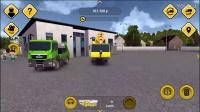 建筑模拟器第78期 工业厂房(3)卡车拖挂车 重型吊车★玩具工程车游戏挖掘机视频表演