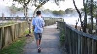 沸腾的湖水,罗托鲁瓦公园的热地区
