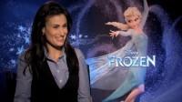 """Frozen interview of """"elsa"""" Idina Menzel"""