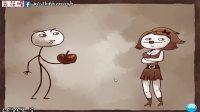 [五花喔]解密搞笑暴走坑爹-美女喜欢咬过的小苹果-史上最贱小游戏3-重口味大逗比