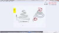 同一平面不同形状的螺旋放样(solidworks实例视频教程)