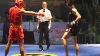 2004年首届中韩武术散打对抗赛 008 男子70kg 张文飞(中国)VS 金容植(韩国)