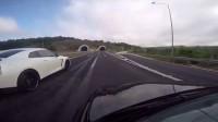 隧道穿越战神GTR《开车泡马子司机是凯子》