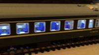 火车模型视频 HXD3C 牵引YZ YW RW 25G红皮 绿皮