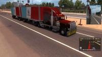 美国卡车模拟--三巨头可乐、ray、幸福联机(美国山路小道)