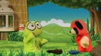 手偶童话剧(儿童安全小故事系列1)看不见的细菌