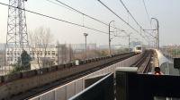 比利《上海地铁7号线》02 AC-10芬达715号车罗南新村上行进站