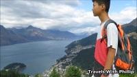 皇后镇山顶, 新西兰南岛著名旅游城市皇后镇