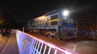 货列 49124次 ND50191 通过宁芜线K18KM中和桥道口