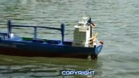 RC遥控集装箱货运轮船
