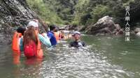 上海虐途户外-丽人谷溯溪漂流视频