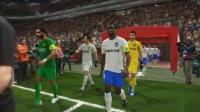 PES2018中超模拟比赛 天津泰达 VS 北京中赫国安, 索里亚诺和巴坎布配合默契