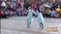 湖南桃源:第15届全国独轮车锦标赛