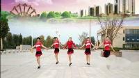 好心情蓝蓝广场舞原创团队版健身舞【花城姑娘正背面】附教学