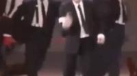 横向滑步 迈克舞蹈 小视频