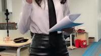 领带漂亮吗?老板上头了