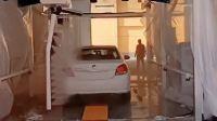 用户案例,两台镭豹360炫彩型洗车机在北京蓝瑞七星汽车服务有限公司安装完成交付使用