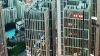 从花果园CBD看贵阳老城区,高楼都集中在这附近了,可能是因为老城改造的成本不低,投入产出不成正比吧
