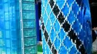 乐高展展出乐高大型建筑景观,前天还没加装玻璃,今天装了玻璃知道为什么吗?