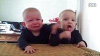 一根牙刷两个娃