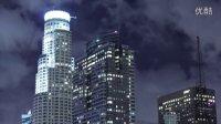 城市夜景繁华都市高楼大厦灯光车流延时摄影高清实拍视频素材