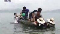 刘在石疯狂斗牛3秒落地 20090816