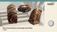 RONDO瑞士龙都整形生产线:Snails蜗牛卷roll-wound卷制面包产品