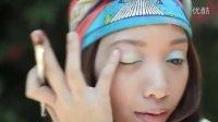 MichellePhan Rainbow Eyes美丽的彩虹眼妆