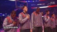 【猴姆独家】苦情天后Mary J. Blige做客2012年NBA全明星赛激情献唱美国国歌!