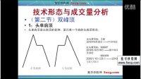 技术形态与成交量分析(二)双峰顶