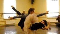 芭蕾舞 堂吉诃德三幕双人舞 排练(Natalia Osipova 和Ivan Vasilie)