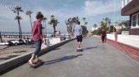 集成重力感应 世界第一款真正的电动滑板